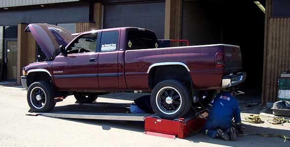 Truck workshop